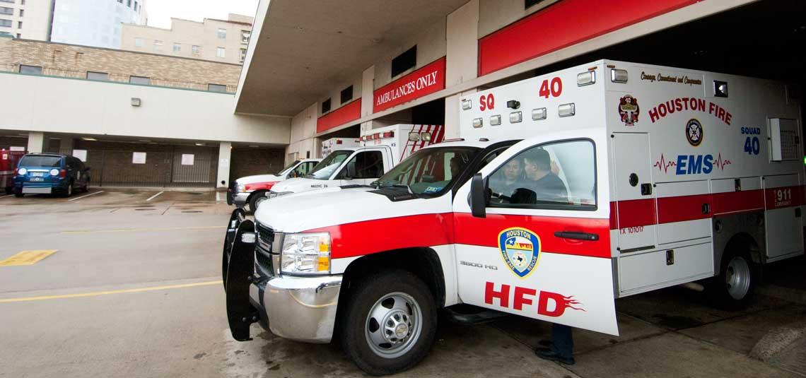 civilian trauma study - ambulance