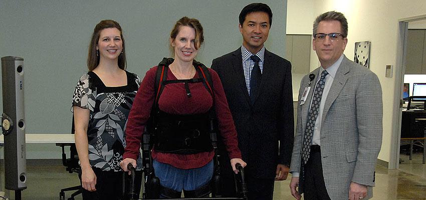 TIRR Open House attendees