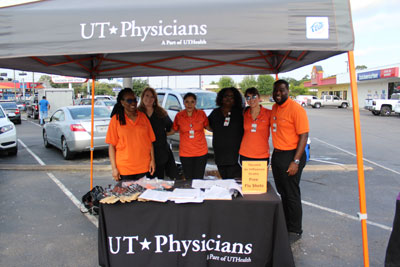 UT Physicians Wellness Team administered 59 flu vaccinations on Sept. 15.