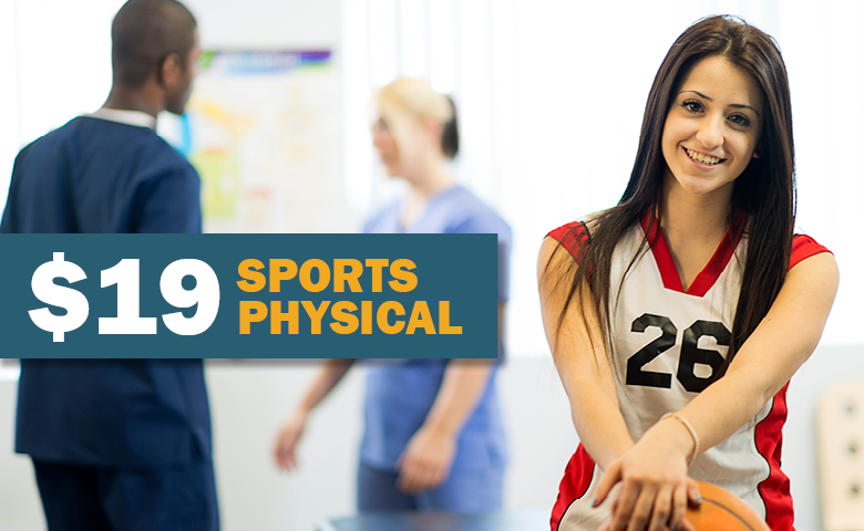 UT Physicians offers special rate on sports physicals.