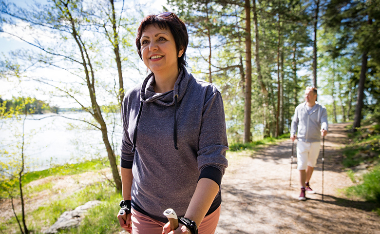 Patient Walking Active
