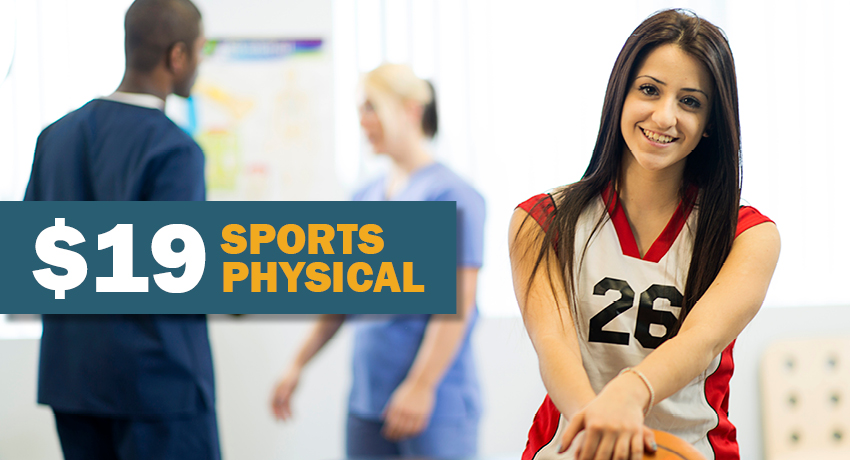 Special sports physical rate offered at UT Physicians