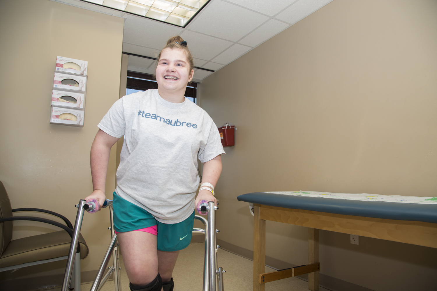 Teen diagnosed with cerebral palsy is beating conventional odds.