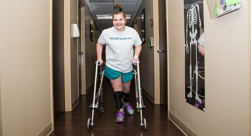 An uplifting story on one teen's journey with cerebal palsy.