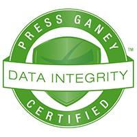 Press Ganey Data Integrity Certificate