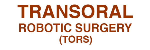 Transoral Robotic Surgery (TORS) Houston, TX Logo