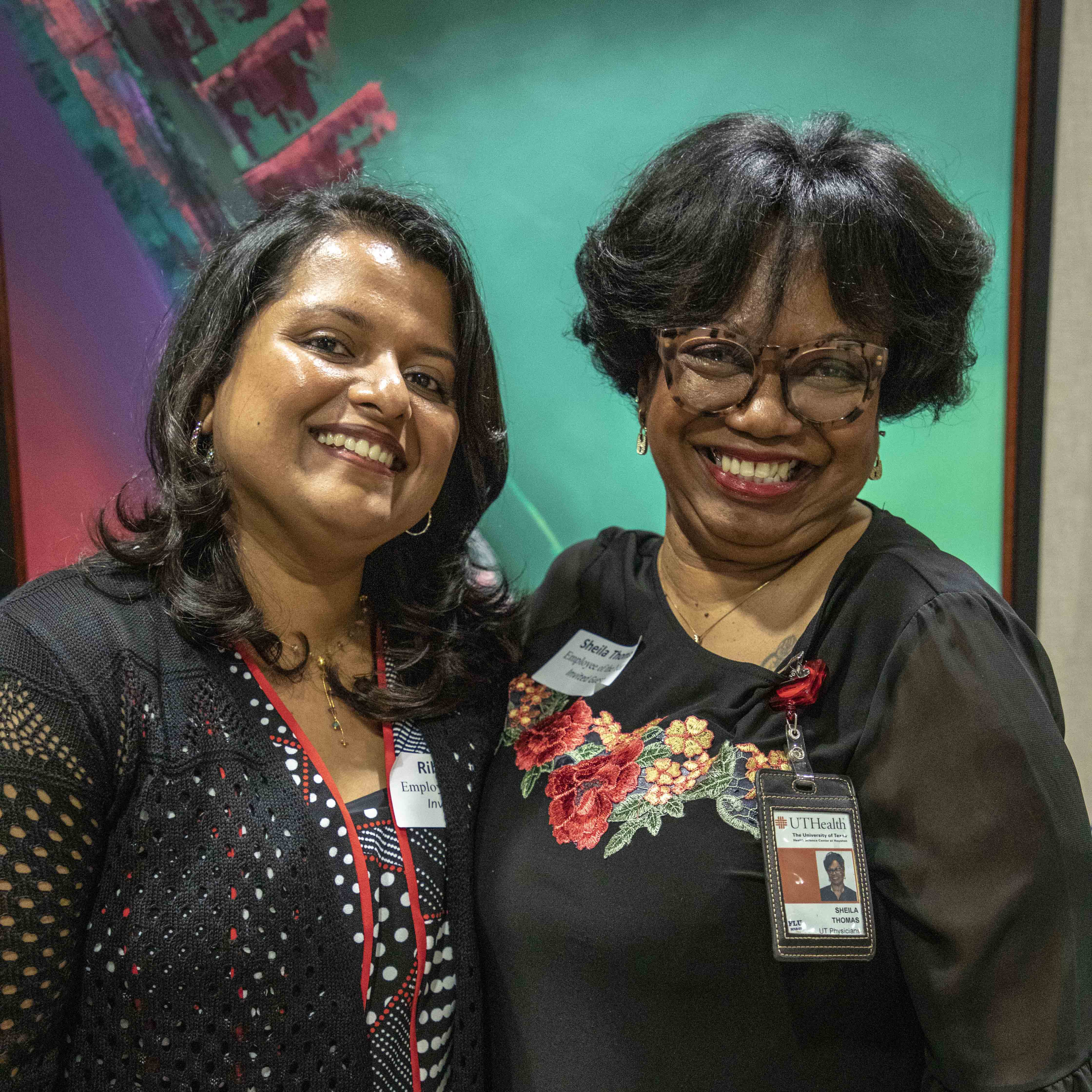Ribi Kurian and Sheila Thomas