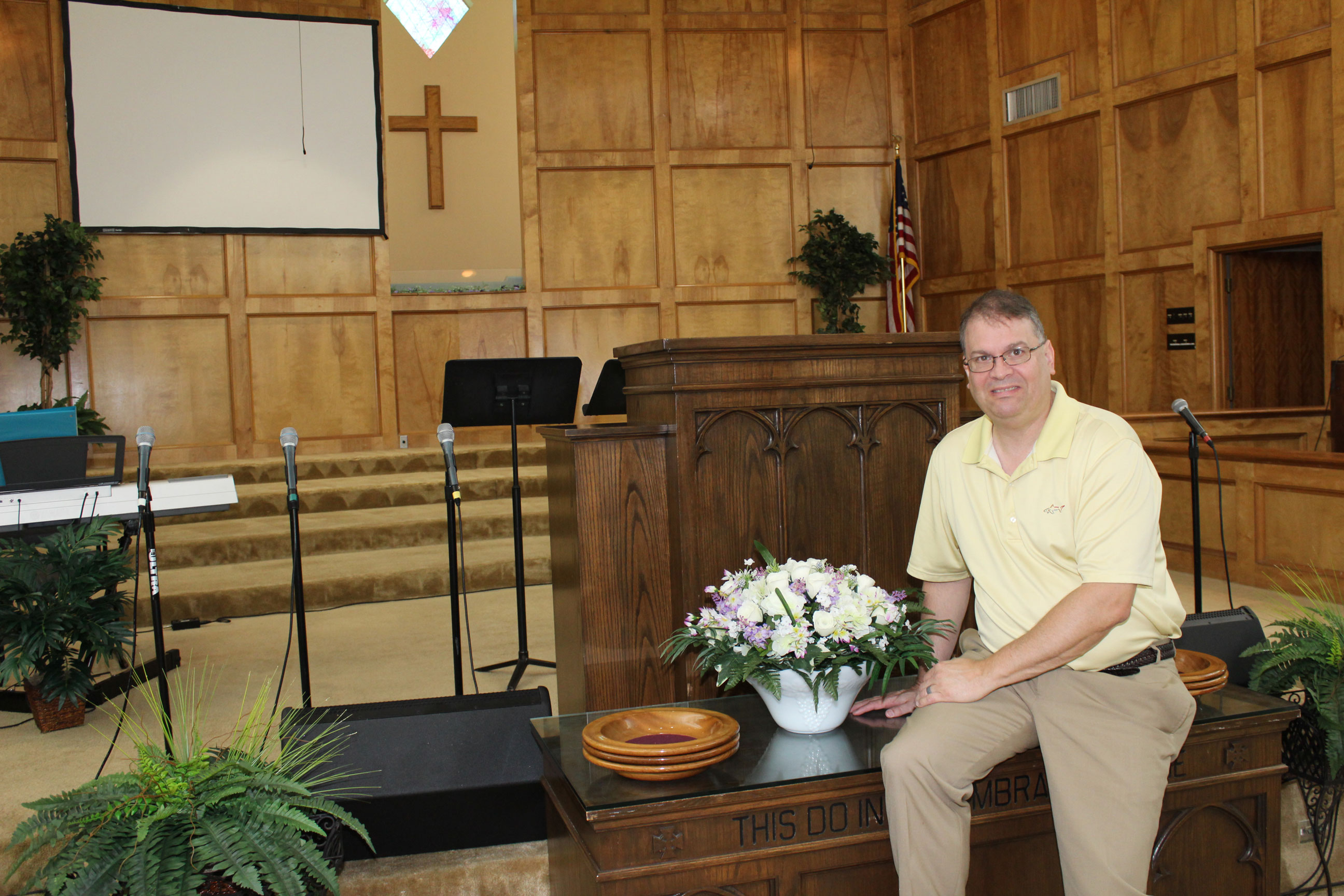 Jay McIntosh is a pastor at First Baptist Church - Grangerland.