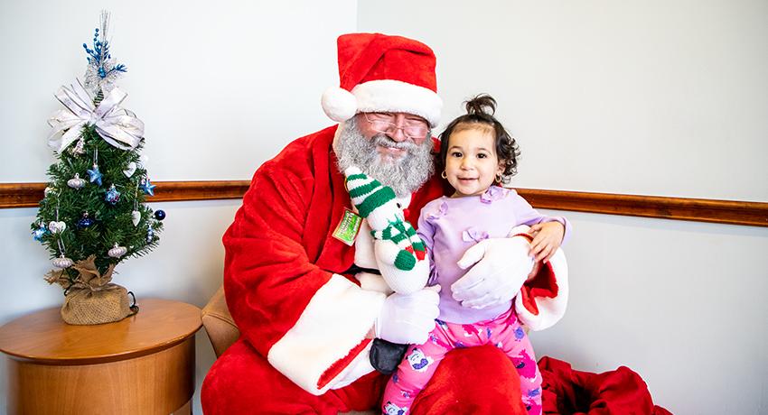 Santa at The Heights