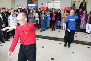 traditional tai chi demonstration
