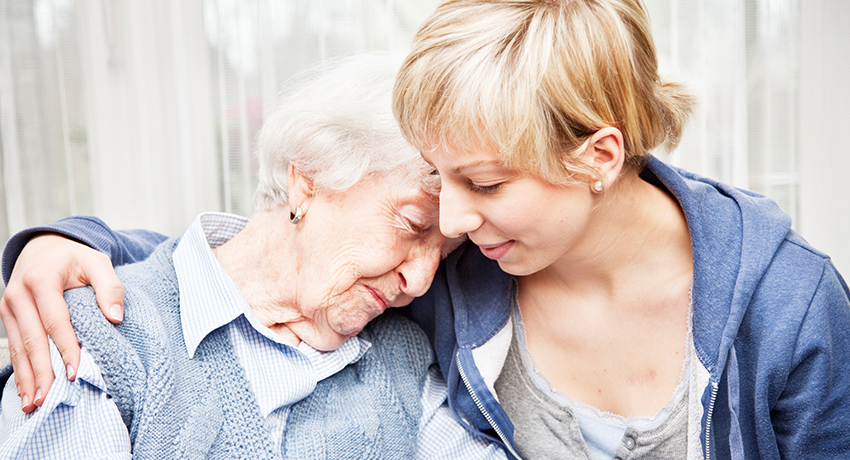 Taking care of those with dementia during the COVID-19 outbreak.