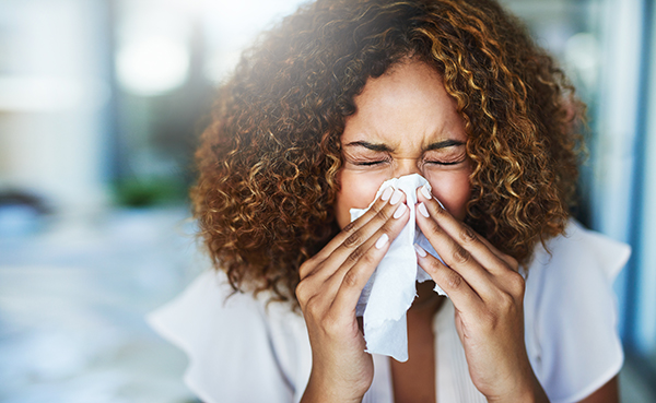 Researchers are investigating new nonsurgical treatment for chronic sinusitis (Photo by: Getty Images)