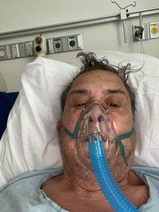 Jorge Zambra in hospital