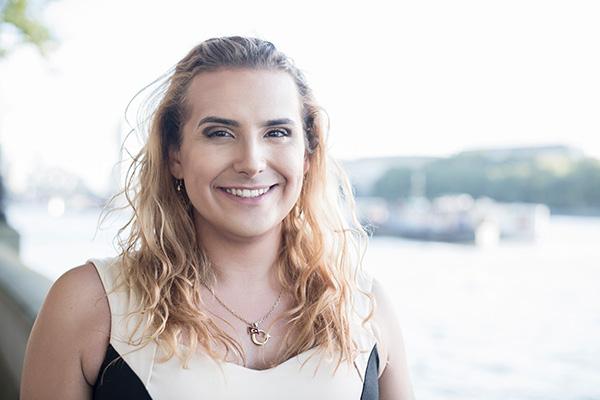 Trans Woman Smiling