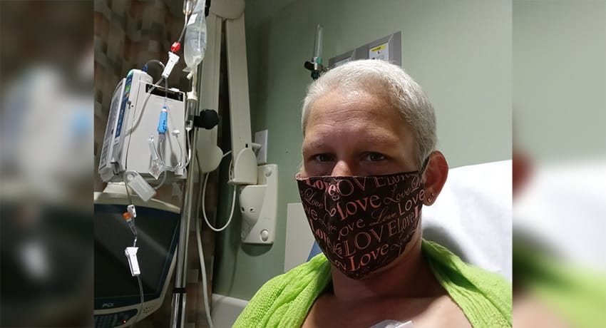 Sherri Comeaux, breast cancer patient