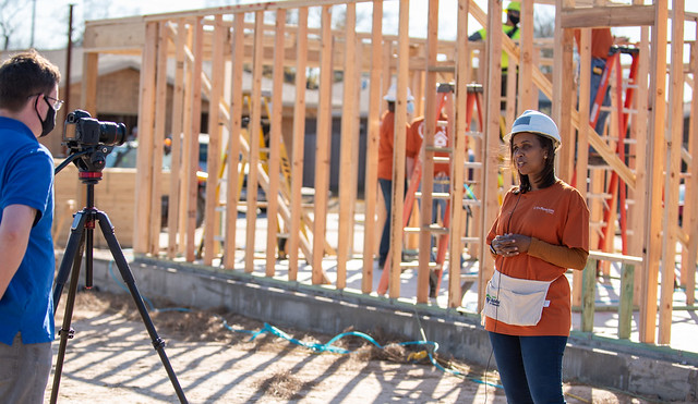 2021 Houston Habitat for Humanity Home Build