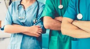 Team of doctors - scoliosis