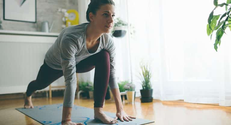 Exercising in isolation