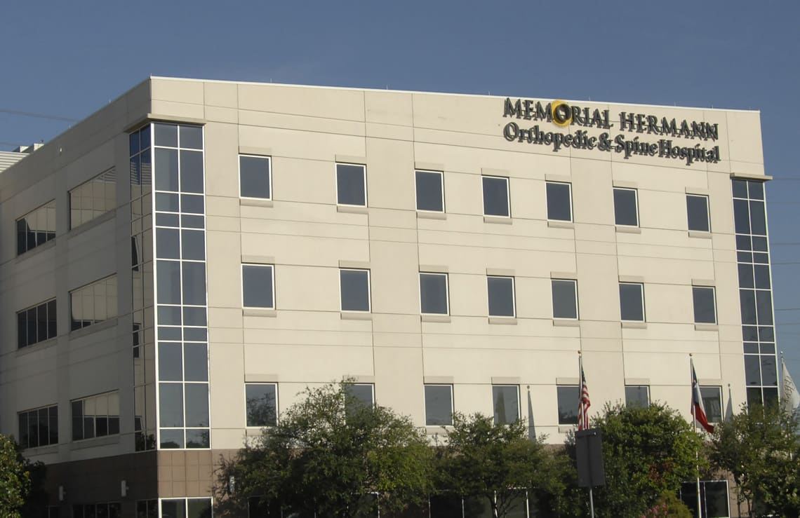 UT Physicians Orthopedics at Memorial Hermann Orthopedic and Spine Hospital  Clinic in Houston, Texas 30934