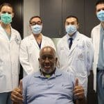 Surgery on rare side effect of COVID-19 gives patient ability to smile again-resized